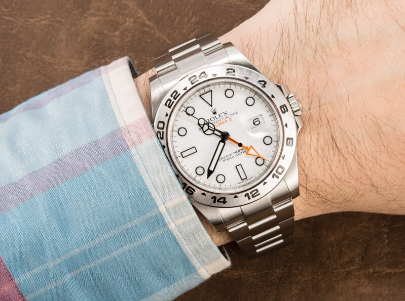 Rolex Explorer II 216570 Replica